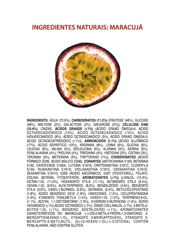 Ingredientes Naturais: Maracujá