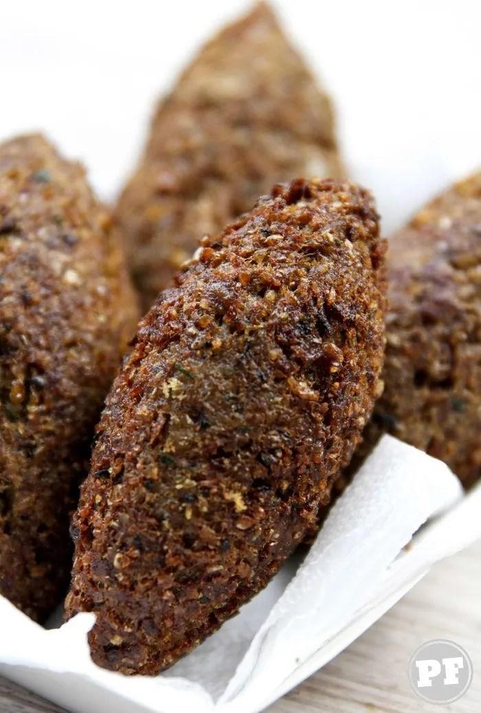 Receita de Kibe Frito Tradicional Que Rende Bastante