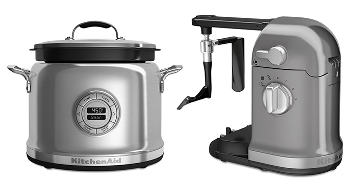 Multi Cooker KitchenAid: Cinza