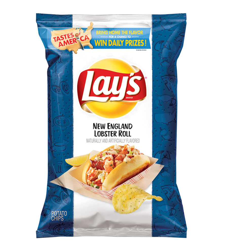 Lay's New England Lobster Roll