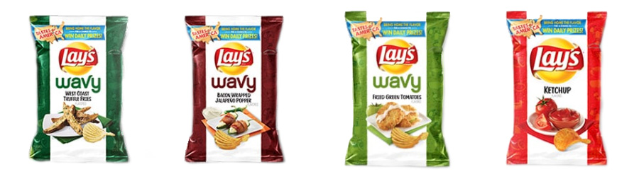 Lay's Taste of America: Wavys