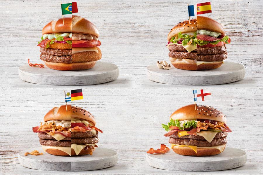 Sanduíches Campeões: McDonald's lança linha especial para a Copa 2018