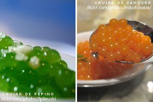 Gastronomia Molecular: Esferificação