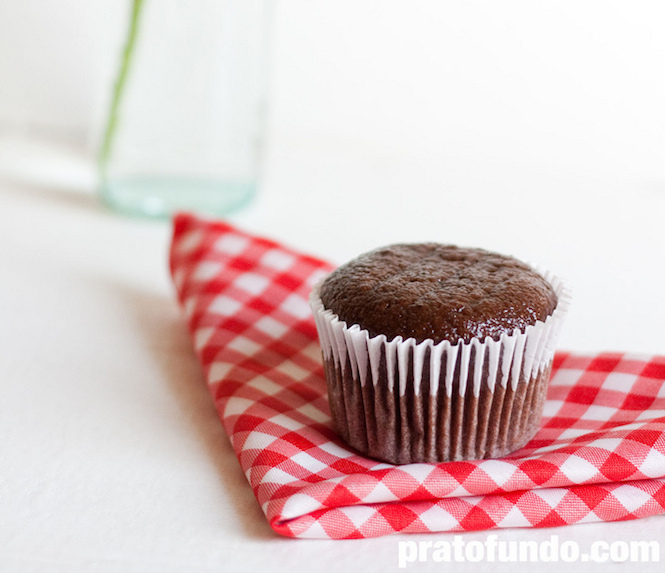 Receita: Muffin de Banana e Chocolate