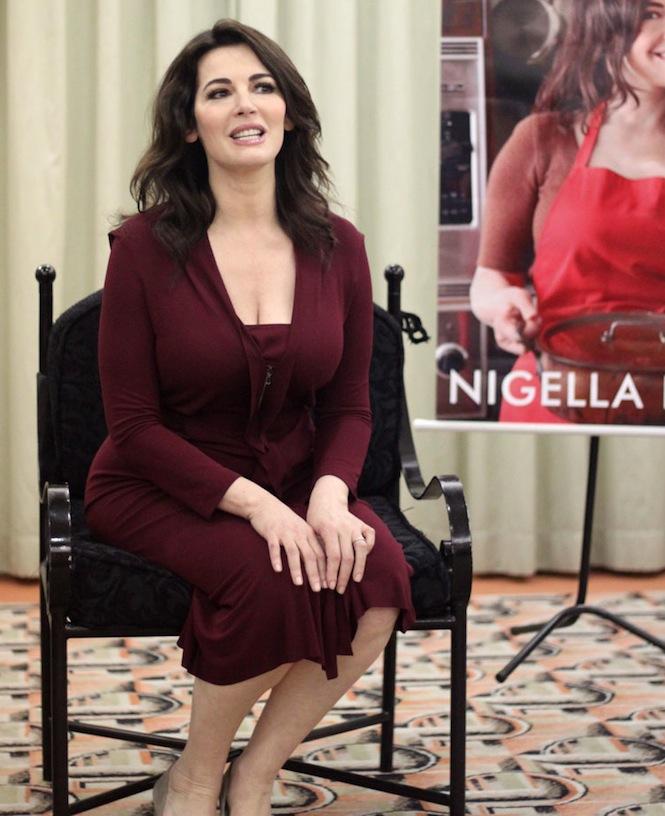 Nigella Lawson no Brasil