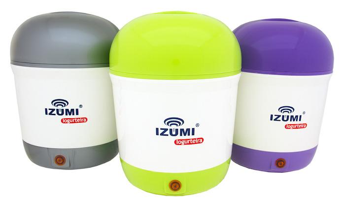 Iogurteira Izumi: Opções de Cores