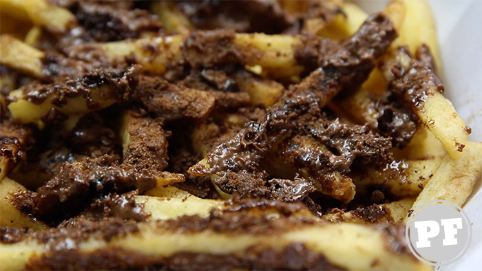 Batata Frita com Ovomaltine do Burger King