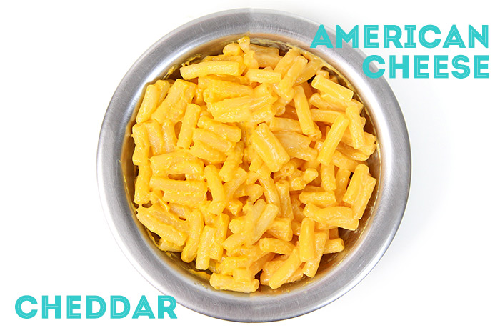 PraComer: Macaroni & Cheese Cheddar e American Cheese da Kraft por PratoFundo.com