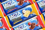 PraComer: Lacta Criações Fantásticas Caramelo Salgado e Geleia de Morango