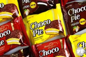 PraComer: ChocoPie Banana, Tradicional e Cacau