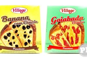PraComer: Panetones de Banana e Goiabada da Village por PratoFundo.com