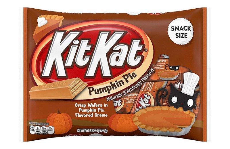 KitKat Pumpkin Pie