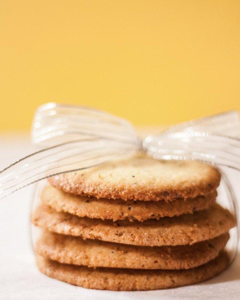 Cookies de Limão Siciliano e Semente de Papoula