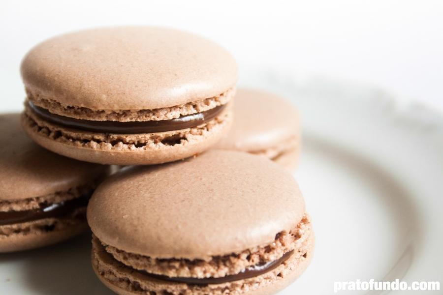Macaron de Chocolate