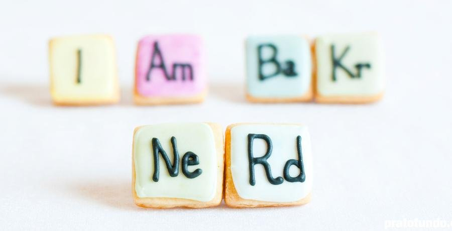 Tabela Periódica Cookies: I Am BaKr NeRd