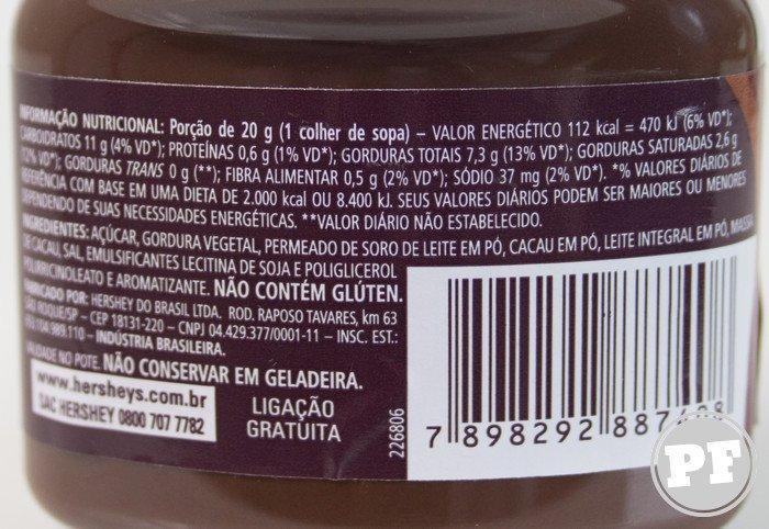 Batalha de Nutella: Hershey's por PratoFundo.com