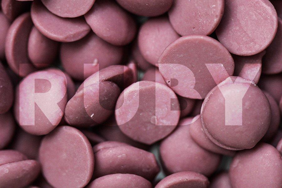 Chocolate Ruby RB1 com Ruby escrito em cima