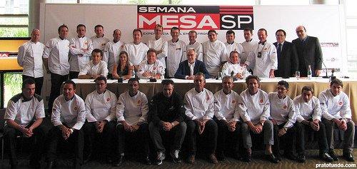 Semana Mesa SP 2009: Coletiva de Imprensa