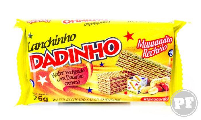 Dadinho Cremoso: Wafer Recheado