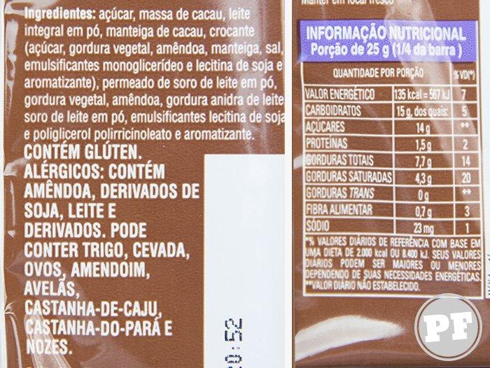 Hershey's Special Milk: Toffee e Amêndoas