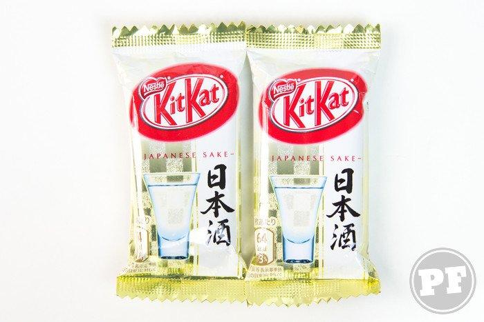Kit Kat do Japão: Sake por PratoFundo.com