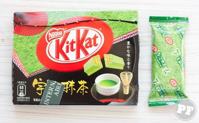 KitKat de Chá Verde
