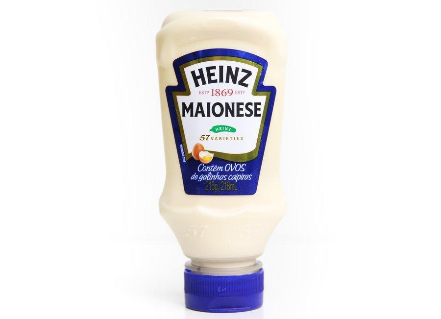 Embalagem da Maionese Heinz