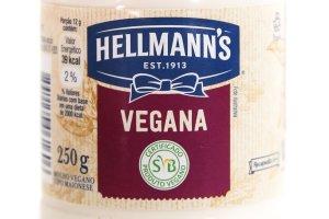 Embalagem da Hellmann's Vegana bem em destaque