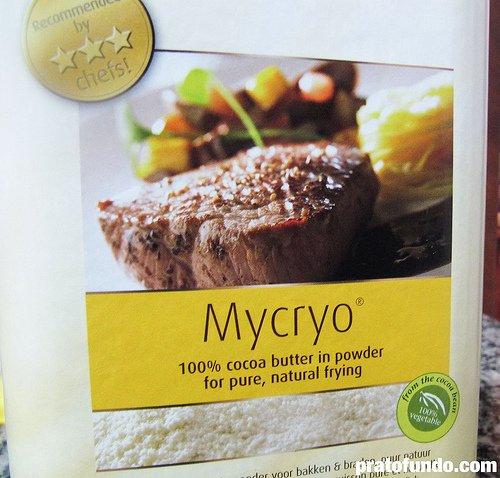 Mycryo: Manteiga de cacau em pó