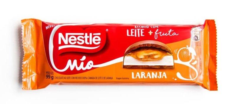 Nestlé Mio Laranja: embalagem