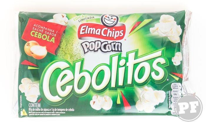 Pipocas da Elma Chips: Baconzitos, Cebolitos e Cheetos por PratoFundo.com