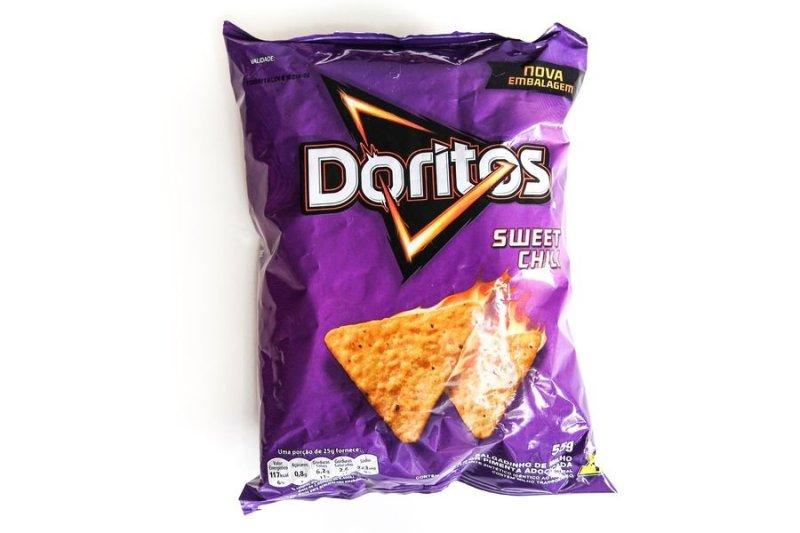 Embalagem de Doritos Sweet Chili