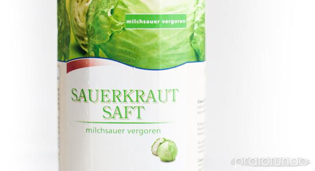 Suco de Chucrute (Sauerkrautsaft)