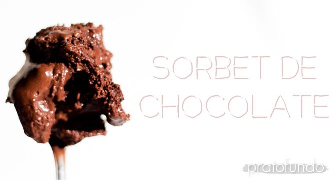 Sorbet de Chocolate