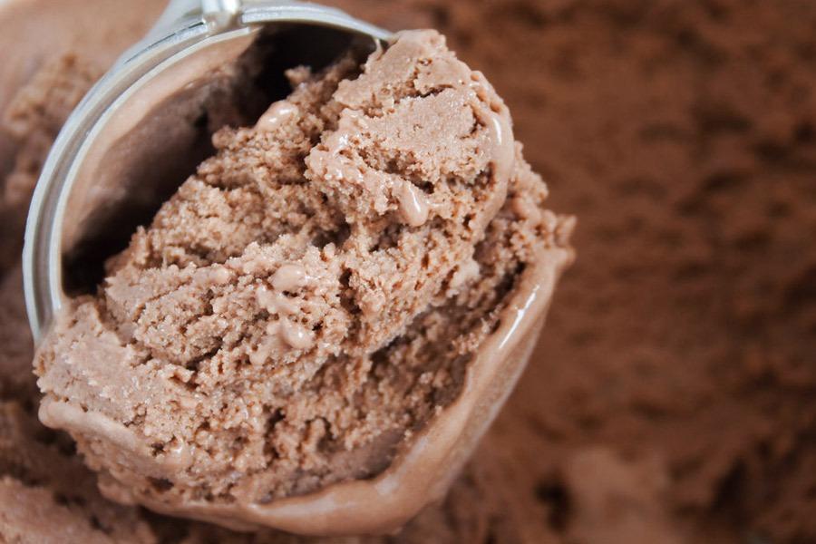 O Melhor Sorvete de Chocolate por PratoFundo.com