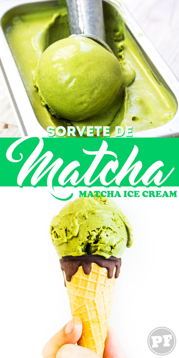 Sorvete de Matcha (Matcha Ice Cream) by PratoFundo.com