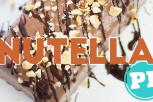 Sorvete de Nutella Mais Fácil do Mundo