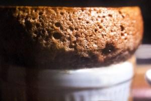 Suflê de Chocolate