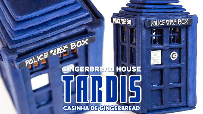 TARDIS: Casinha de Gingerbread House