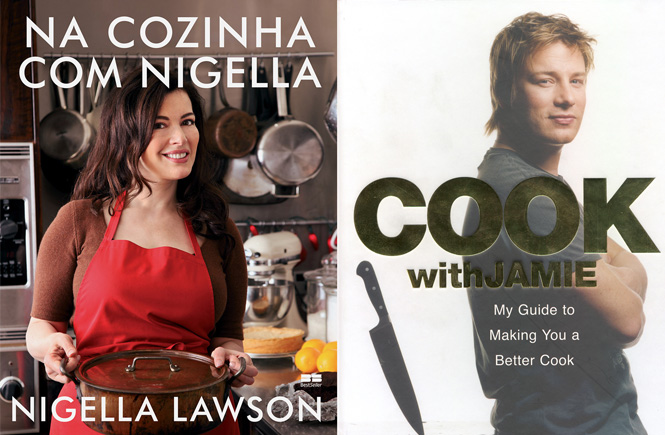 Xepa: Livro da Nigella e Jamie Oliver