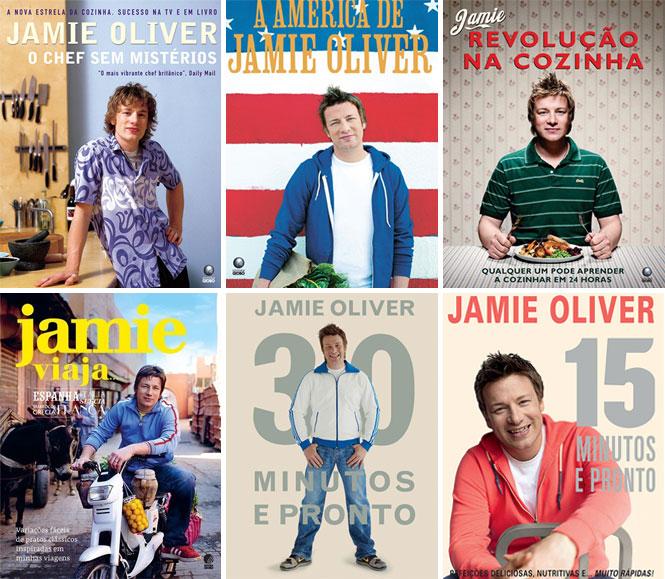 Xepa: Livros do Jamie Oliver