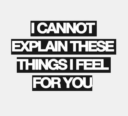 Things I Feel..