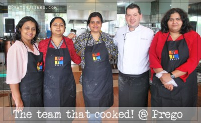 Italian Cook-off at Prego, Westin Pune