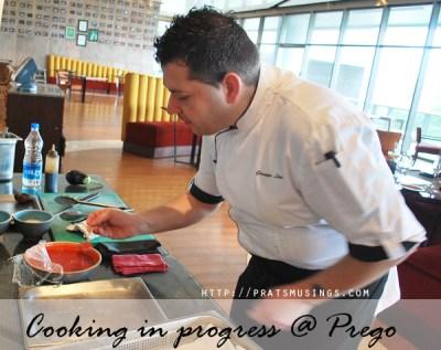 Italian Cook-off at Prego, Westin Pune