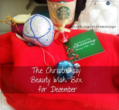 Beauty Wish Box December 2014 by TNC