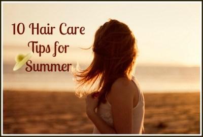 Hair Care Tips for Summer