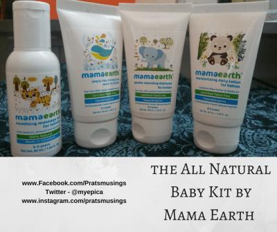 Mamaearth Travel Essentials Kit