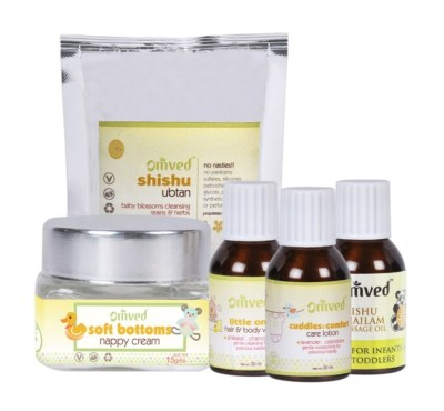 Indian Brands for Safe and Natural Baby Products, organic baby products india, Omved therapies