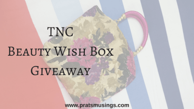 TNC Beauty Wish Box Giveaway