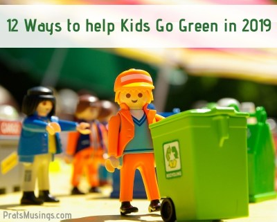 ways to help kids go green